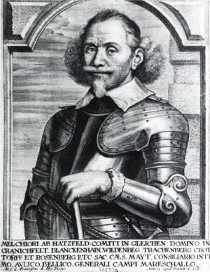 Císařský polní maršál Melchior hrabě Hatzfeldt (1593-1658)