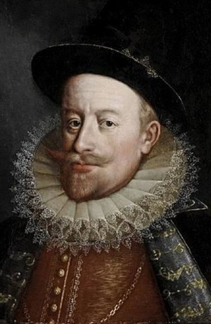 Uherský král Matyáš.