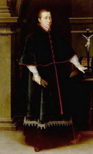 Arcivévoda Leopold, biskup pasovský.