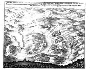 Postavení armád před bitvou u Jankova