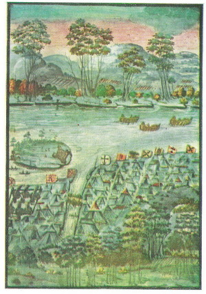 Tábor Pasovských roku 1610.