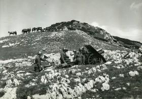 7,5 cm horský kanón vz. 15 na manévrech