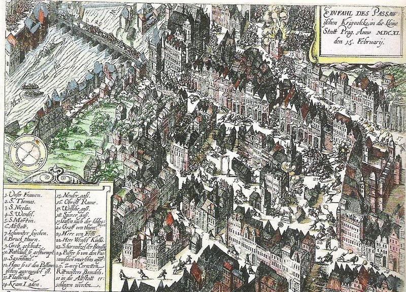 Vpád Pasovských do Čech roku 1611
