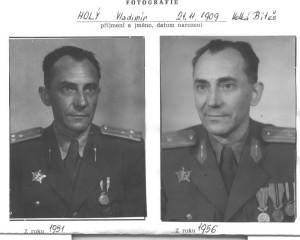 Plk. Vladimír Holý, velitel vojenských pracovních jednotek od ledna 1952 do června 1954. FOTO: VÚA–VHA