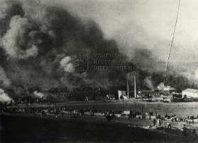 Následky amerického náletu na Prahu z 25. března 1945