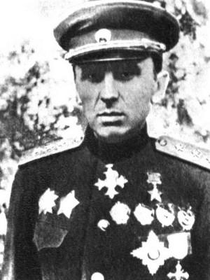Generálplukovník Kiril Semjonovič Moskalenko, v březnu 1945 velitel sovětské 38. armády.