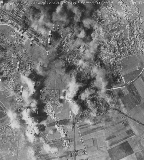 70. výročí amerického náletu na Prahu 25. března 1945