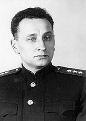 Generálplukovník Andrej Antonovič Grečko, v březnu 1945 velitel sovětské 1. gardové armády.