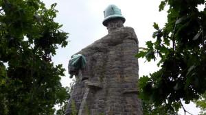 Žižkův pomník u Sudoměře od Emanuela Kodeta
