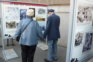 Zahájení výstavy věnované válečnému roku 1915