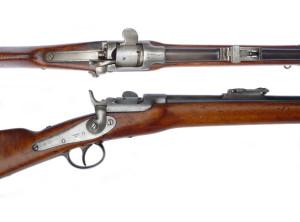 Krátká puška (Stutzen) Werndl M. 1867. Foto: Jan Skramoušský.