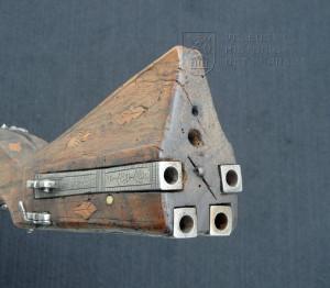 Puška trojhlavňová s doutnákovým zámkem, kolem 1500