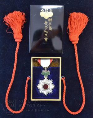 Japonský Řád vycházejícího slunce, 6. třída
