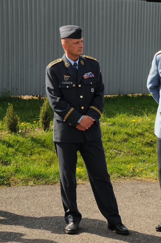 Velitel vzdušných sil brigádní generál Libor Štefánik