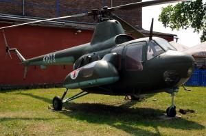 Venkovní expozice Leteckého muzea Kbely