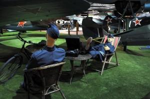 Současná expozice Leteckého muzea Kbely