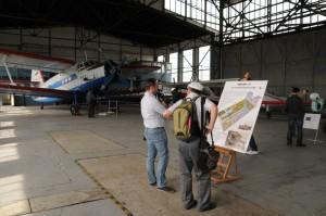 Expozice ve Stare Aerovce