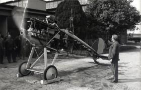 Zkouška motoru Aero A-18