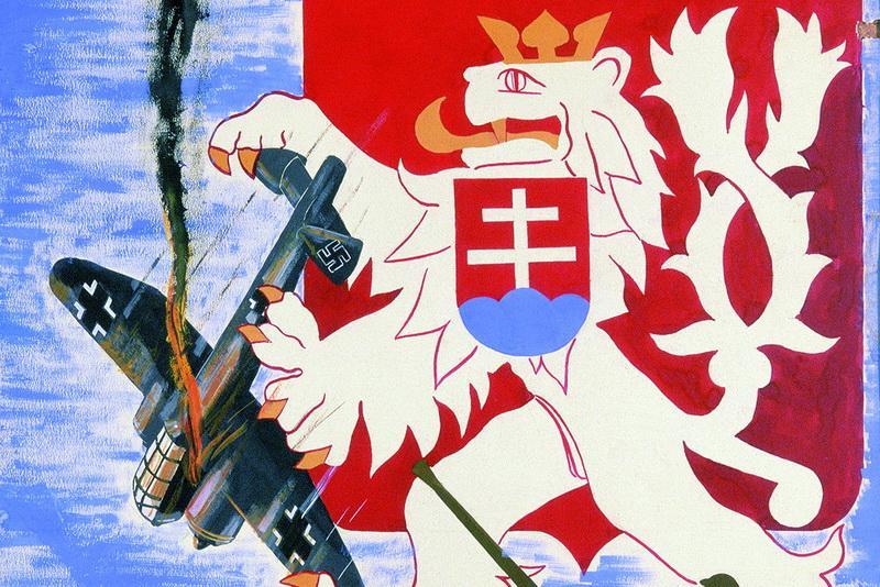 VHÚ připravil výstavu Válečný plakát, představí se i obrněné povstalecké vozidlo
