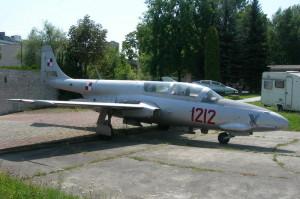 Polský letoun TS-11 Iskra ještě v polském muzeu, ze kterého ho VHÚ získal v loňském roce