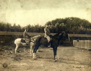 Plukovník Pellé v Rabatu 1913 (Foto sbírka VHÚ)