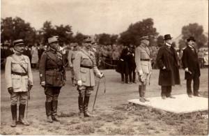 Vojenská slavnost na Invalidovně 14. července 1919 (Foto sbírka VHÚ)