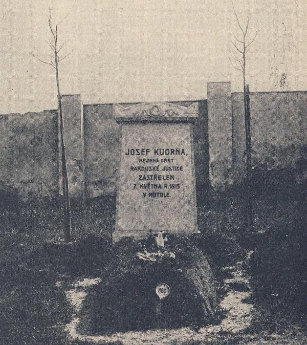 Poprava Josefa Kudrny, oběti rakouské vojenské justice