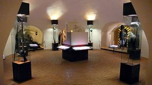 Muzeum Hradní stráže ve věži Mihulka na Pražském hradě