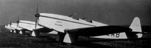 Historické foto letounů Beta Minor Be-50