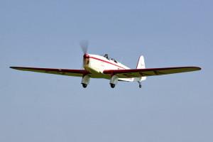 Beta Minor Be-50 při svém první letu. Foto Petr Kolmann.