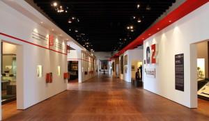 Centrální část výstavy