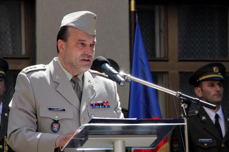 Ředitel VHÚ Aleš Knížek při úvodním proslovu