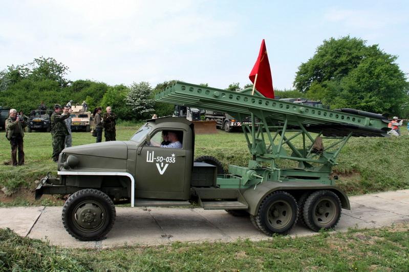 Sovětské kaťuše na podvozku Studebaker