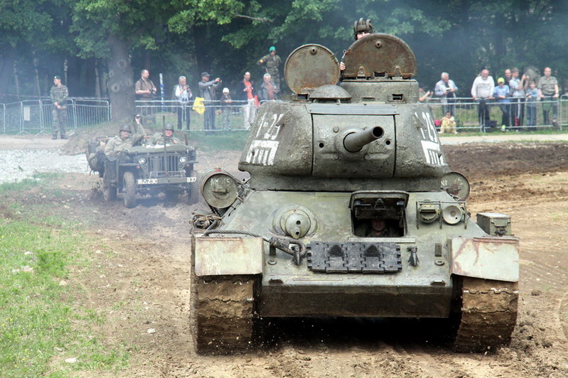 Sovětský tank T-34