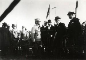 Italský král u čs. legií, Padova 1918