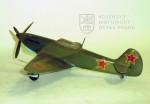Model sovětského stíhacího letounu Jakovlev Jak-3