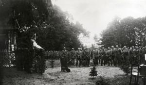 Polní mše, italská fronta 1915