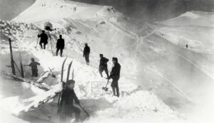 Rakousko-uherští vojáci v Alpách