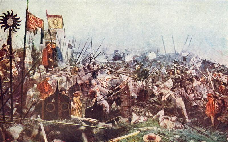 Bitva u Lipan, střet Čechů proti Čechům