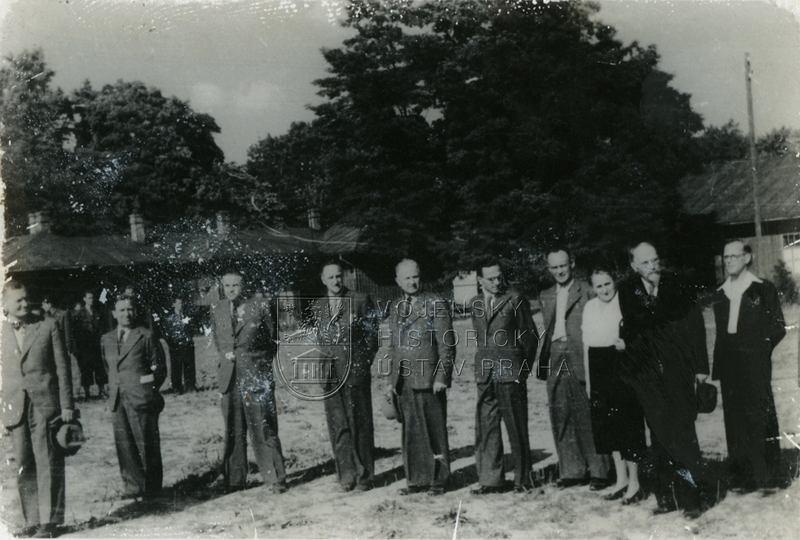Formování československé exilové jednotky v Polsku roku 1939