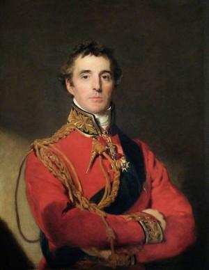 Vrchní velitel anglo-batavské armády Arthur Wellesley vévoda z Wellingtonu