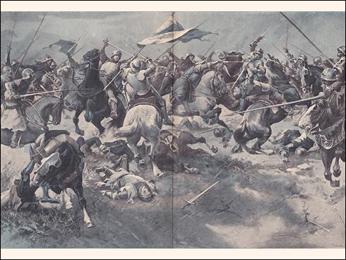 Žižkovo vítězství u Malešova a legenda o vozech naplněných kamením