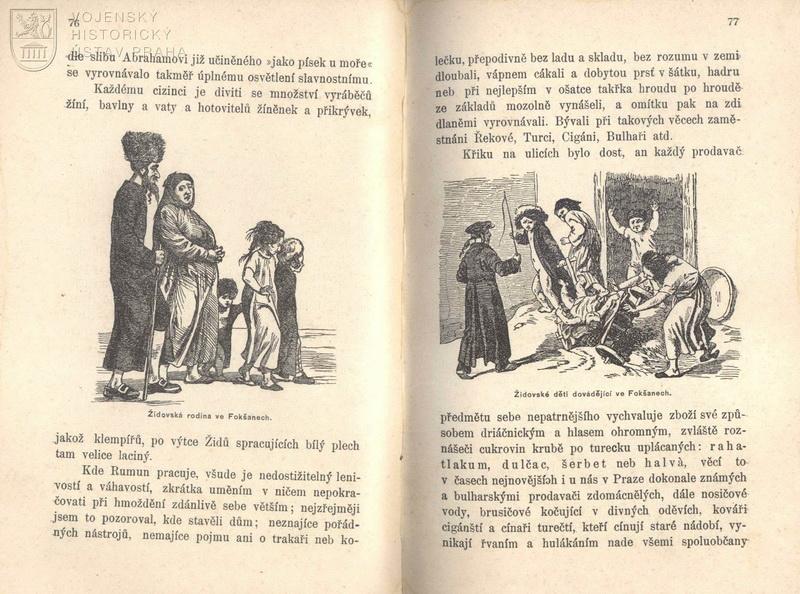FRIEDBERG-MÍROHORSKÝ, Emanuel Salomon, Před čtyřiceti lety: Ze svých pamětí na vojenský pobyt v knížectví Valašském r. 1856