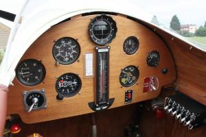 Palubní deska pilota