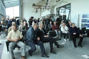 Setkání před prvním letem v Leteckém muzeu Metoděje Vlacha