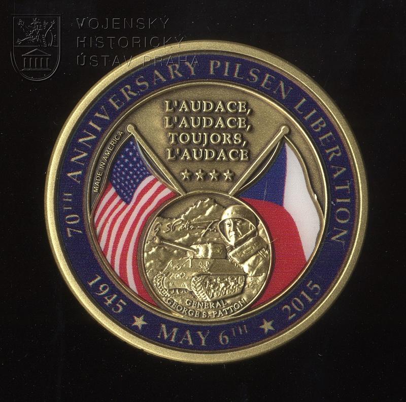 Pamětní medaile 70. výročí osvobození Plzně