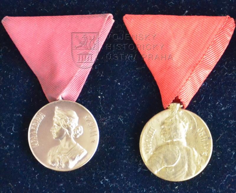 Srbská Medaile za chrabrost (1912)