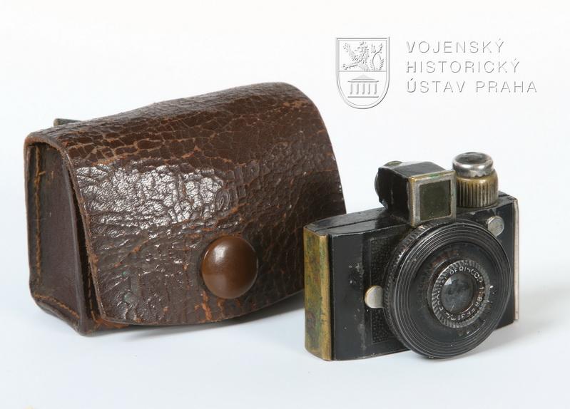 Subminiaturní fotoaparát Fotonette