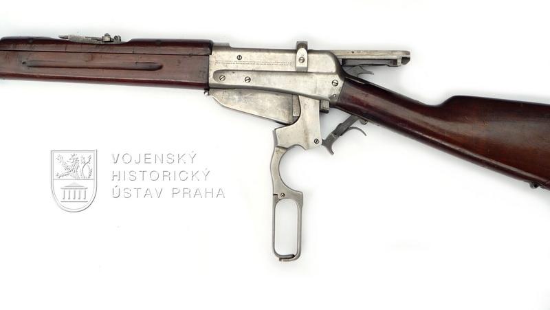 Americká opakovačka Winchester M 1895 z dodávek pro Rusko