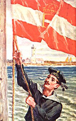 Dobové vyobrazení námořnictva